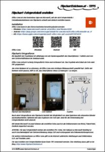Flipchart-Fotoprotokoll erstellen