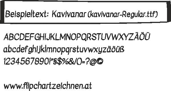 Schrift Kavivanar